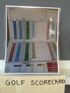 Score Card.
