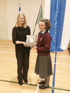 Caoimhe O'Reilly - First Year Student of the Year.