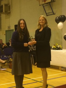 Maedbh Donnelly - TY Student of the Year.