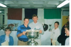 sports awards in 1995 when Dublin beat Tyrone in the All Ireland